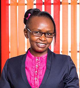 Ms. Grace Wangari - Receptionist